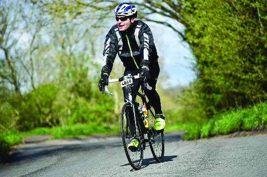 Cycling surgeon cuts a dash for GUTS